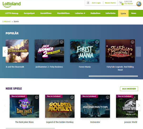 Lottoland Casino