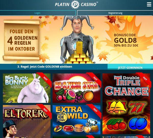 platin p casino